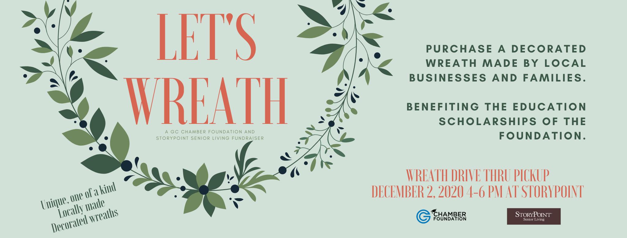 FB Banner GC Foundation Let's Wreath Flyer (1)