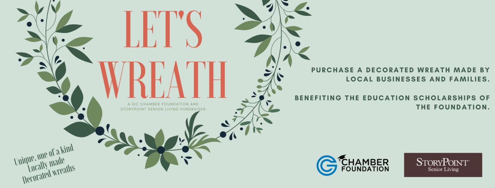 FB Banner GC Foundation Let's Wreath Flyer (2)